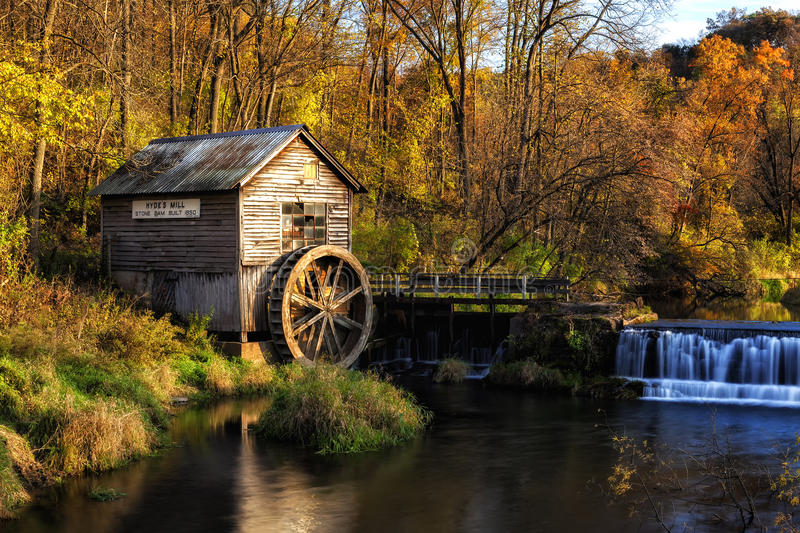 Hyde's Mill stock photography
