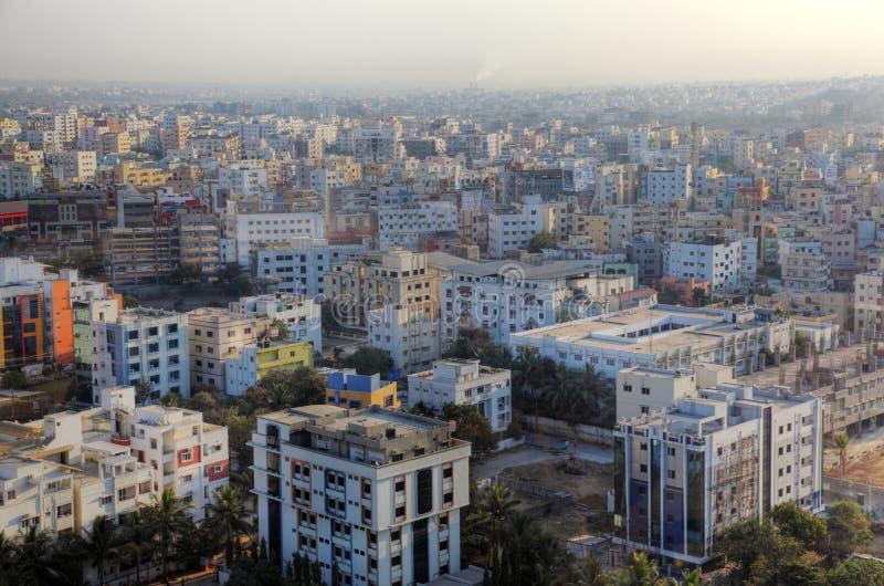 Hyderabad cityscape royalty-vrije stock fotografie