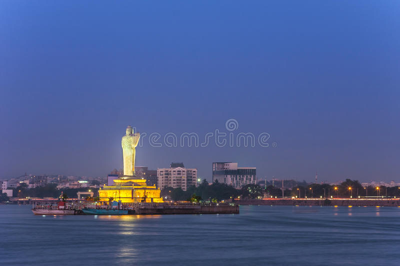 Hussain Sagar - Hyderabad - India stock image