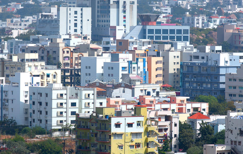 Hyderabad Indien arkivbild