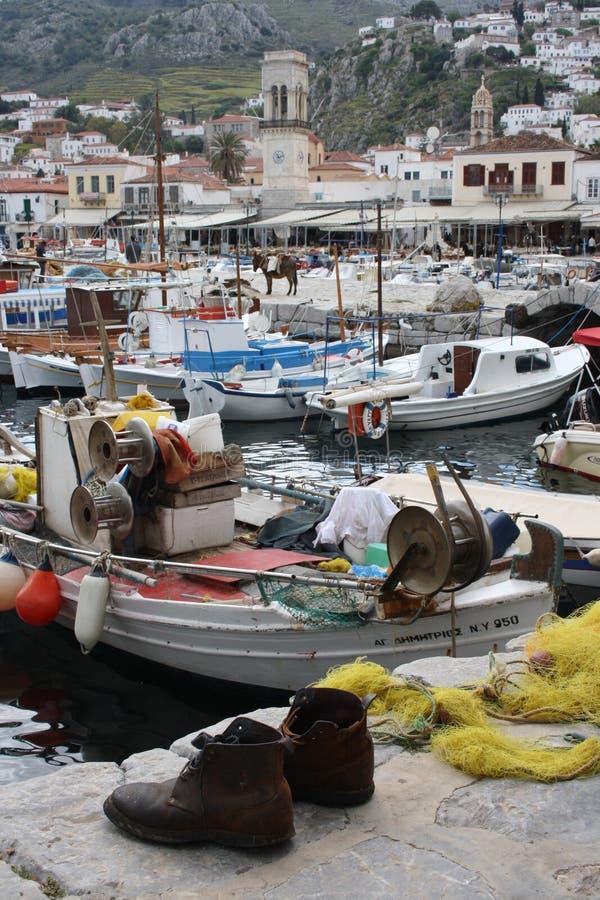 HYDRA-GRIECHISCHE INSEL stockfoto