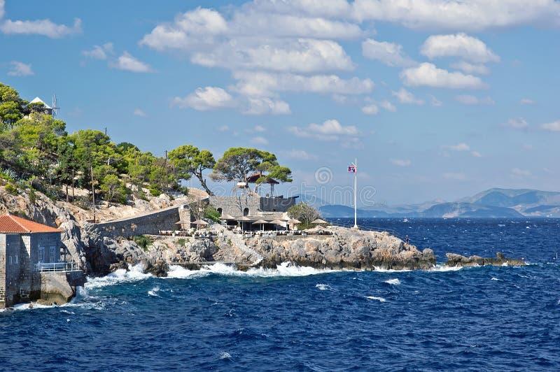 Hydra island. stock image