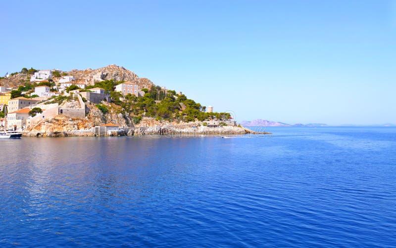 Hydra island Greece stock image