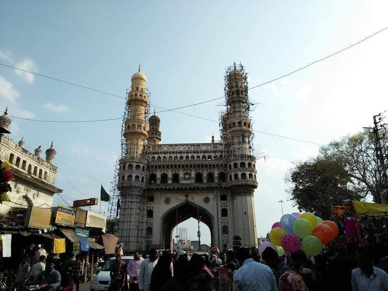 Hydrabad good place to visit in weekend stock photos