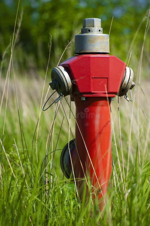 Hydran do incêndio vermelho imagem de stock royalty free