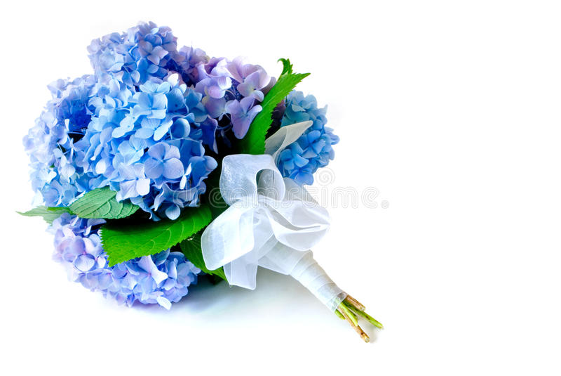 Hydrangea-Blumenstrauß stockfoto