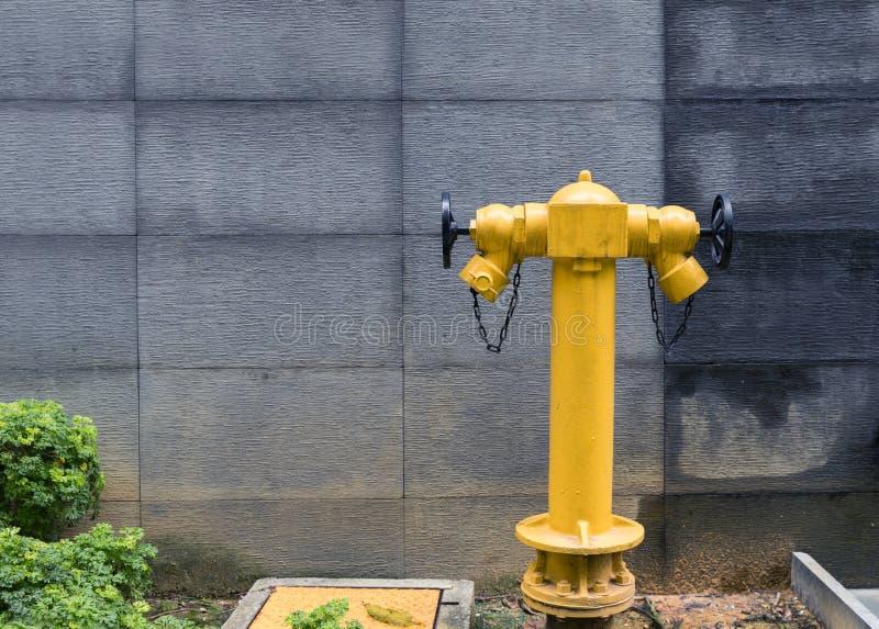 Hydrant auf einer Straße lizenzfreies stockbild