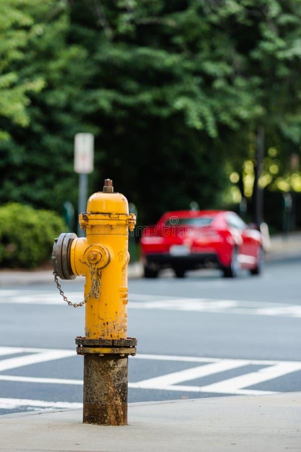 Hydrant Charlotte lizenzfreie stockbilder