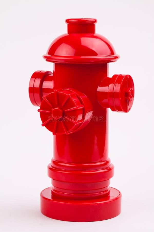 Hydrant des roten Feuers stockfotos