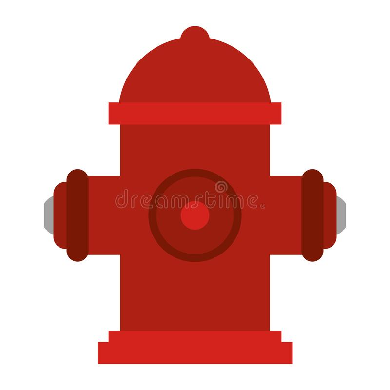 Hydrant firefighter tool. Symbol vector illustration graphic design stock illustration