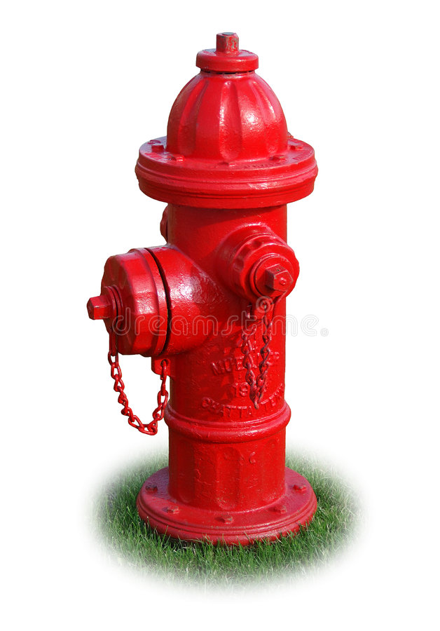 Hydrant getrennt lizenzfreie stockfotografie