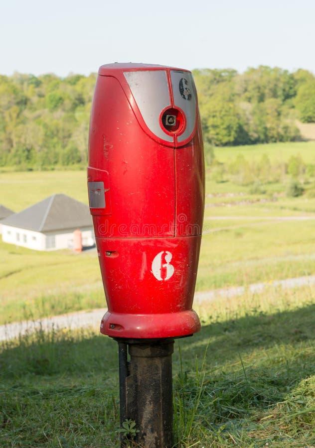 Hydrant im Land von Frankreich lizenzfreie stockfotografie