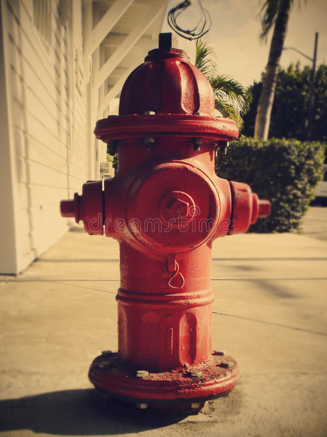 Hydrant in USA lizenzfreies stockbild