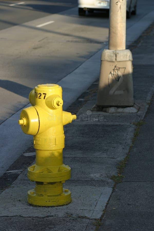 Hydranta Sceny Pożaru Street Fotografia Royalty Free
