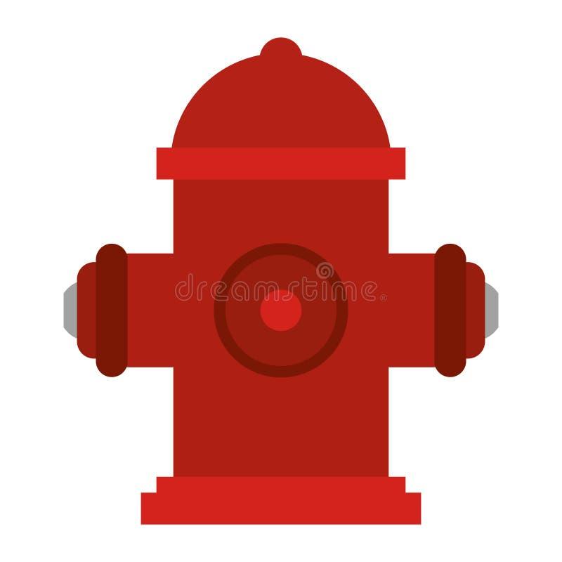 Hydranta strażaka narzędzie ilustracji