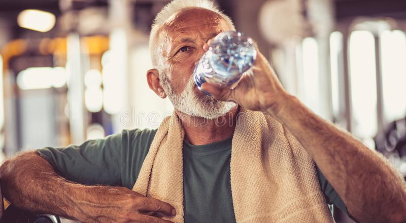 Hydratisera din kropp arkivfoto