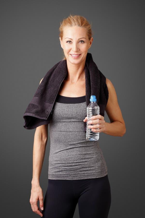 Hydratiserat med vatten royaltyfria foton