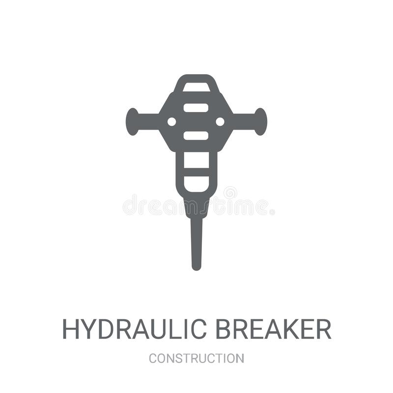 Hydraulic Breaker Stock Illustrations – 211 Hydraulic Breaker Stock