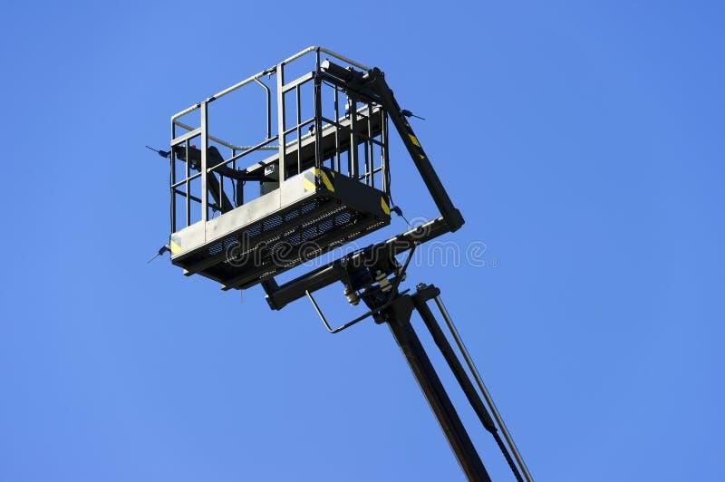 Hydraulic lift platform royalty free stock image