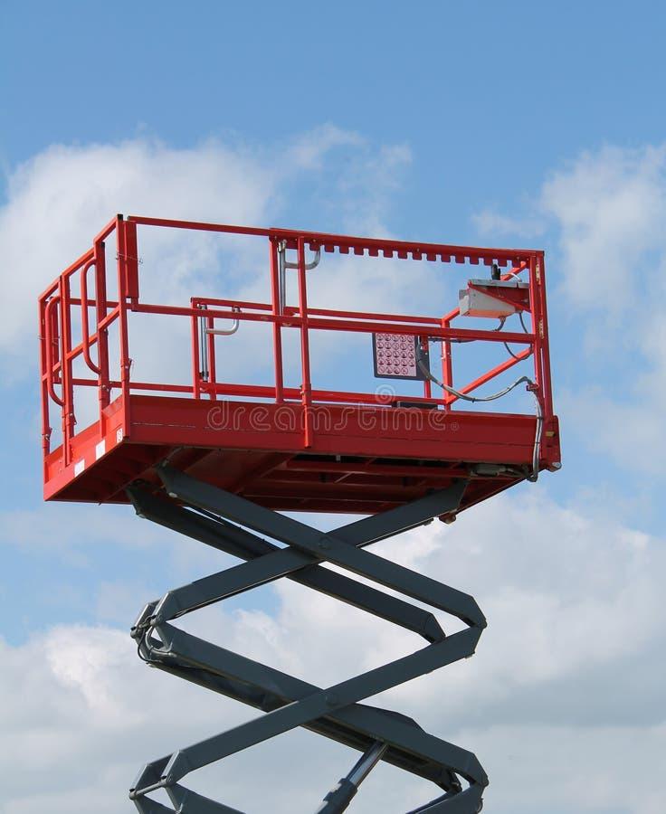 Hydraulic Lift. stock image
