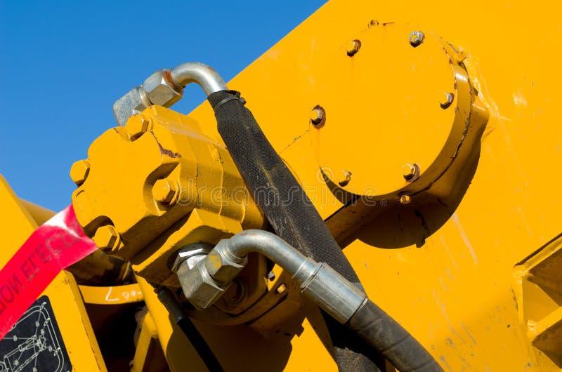 Hydraulic Motor stock images