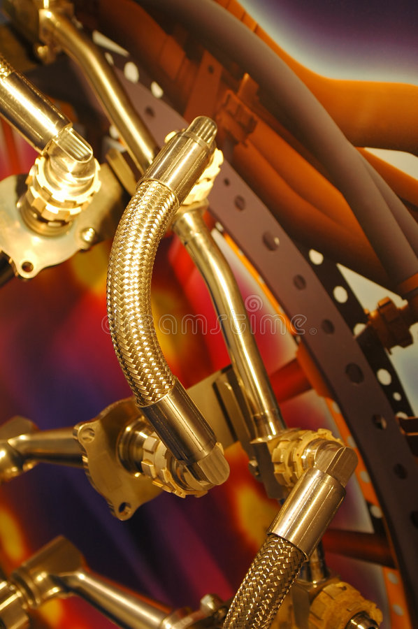 Free Hydraulic Pipes Royalty Free Stock Images - 6101759