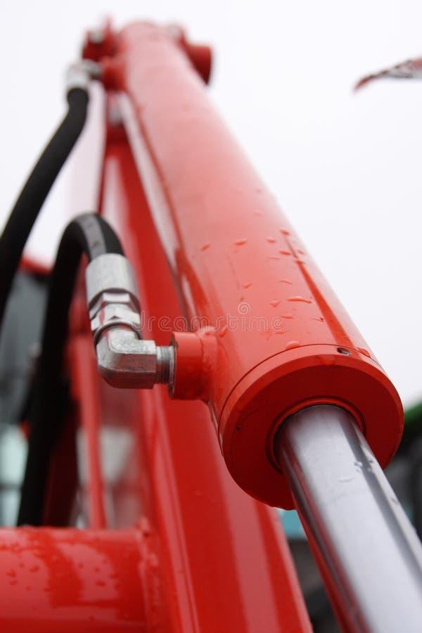 Hydraulic piston. royalty free stock image
