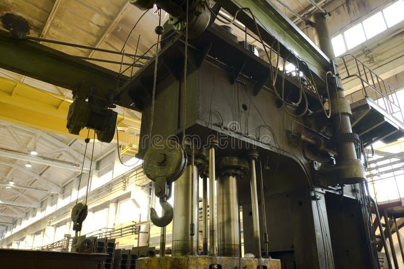 Hydraulic press royalty free stock photos