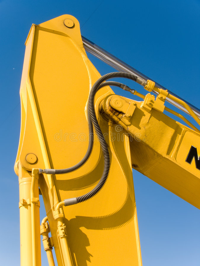 Download Hydraulic System Of An Arrow Of The Mechanism Stock Image - Image: 7066915