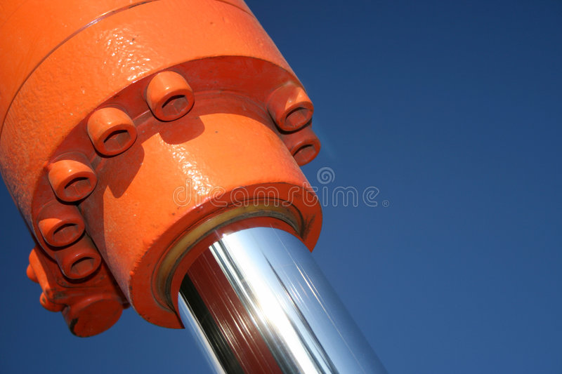 Hydraulics royalty free stock photography