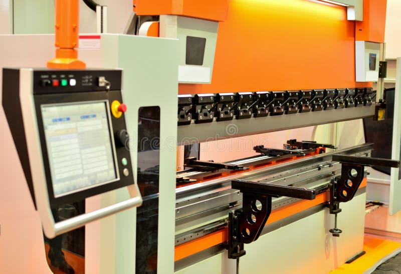 Hydrauliczna szkotowa chylenie maszyna dla szkotowego metalu chylenia ilustracji