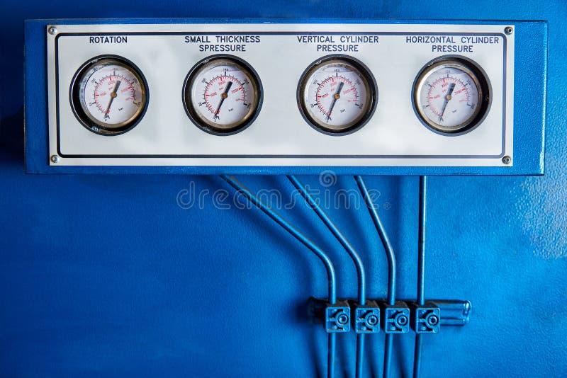 Hydraulicznej prasy panel obrazy stock