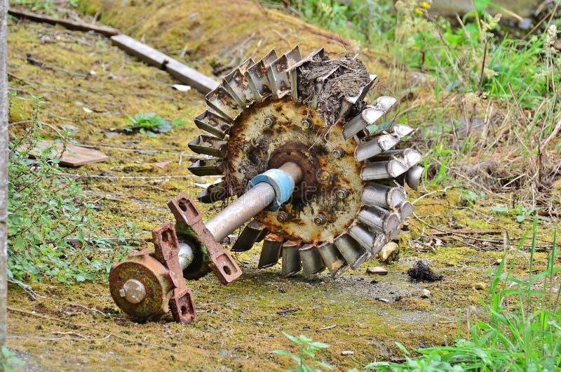 Hydrauliczny koło fotografia stock