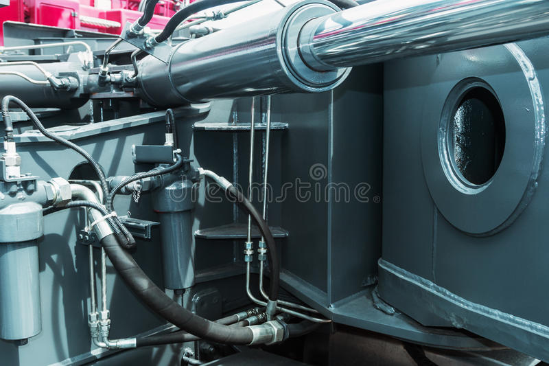 Hydraulika ciągnikowe zdjęcie stock
