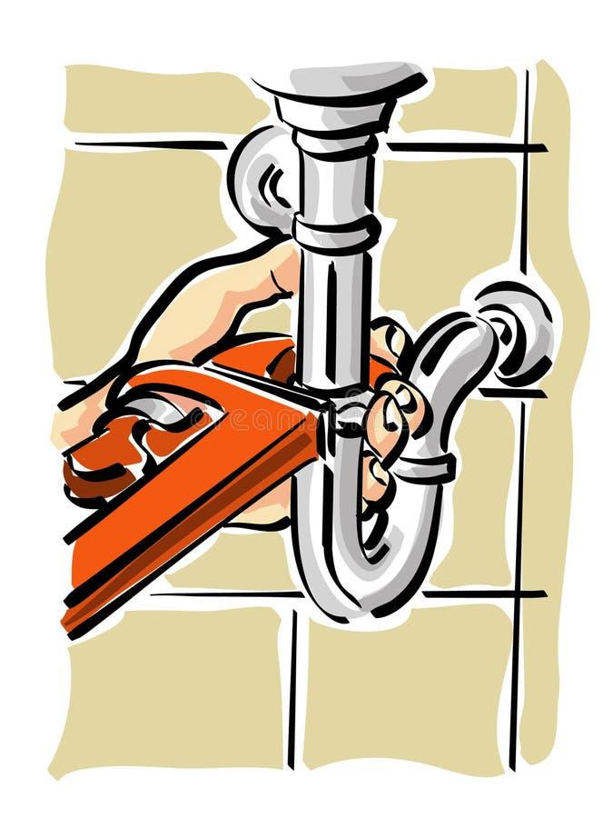 Hydraulique illustration libre de droits