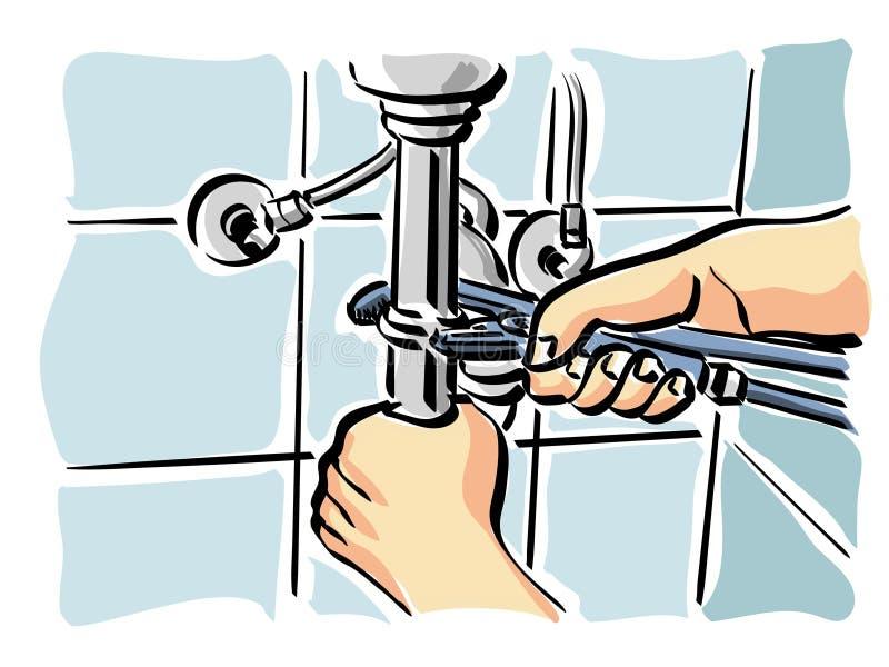 Hydraulisch vector illustratie