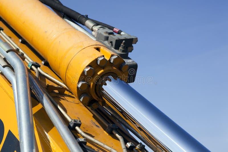 Hydraulisch detail stock foto
