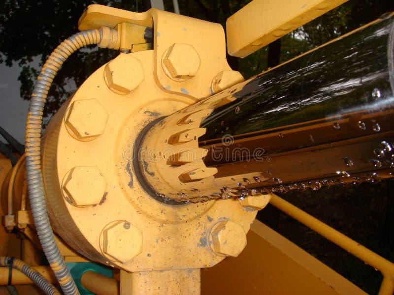 Hydraulische 030 lizenzfreies stockbild