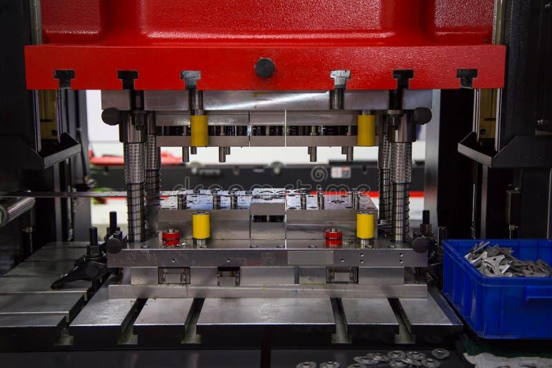 Hydraulische persmachine stock foto's