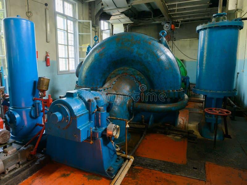 hydraulische turbine royalty-vrije stock afbeelding