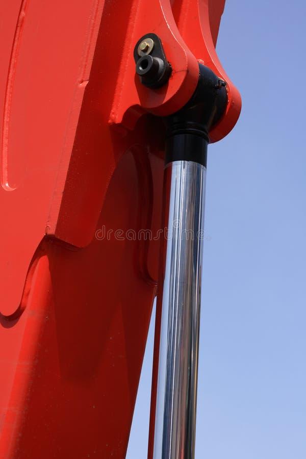 Hydraulischer Kolben. stockfotografie