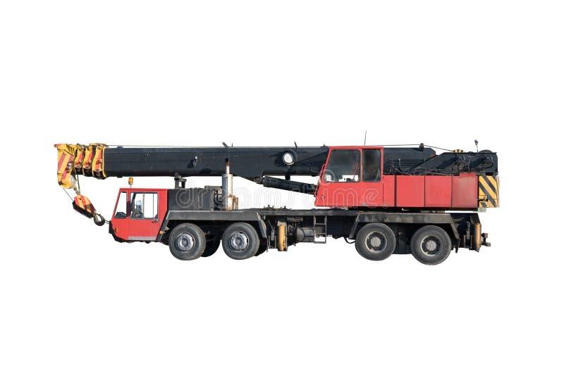 Hydraulischer LKW-Kran stockbilder