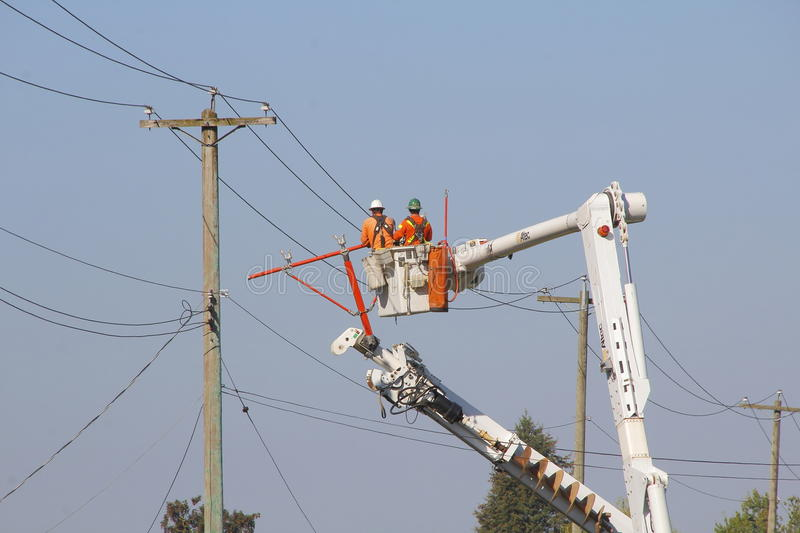 Temporary Power Pole Stock Images - Download 21 Royalty Free