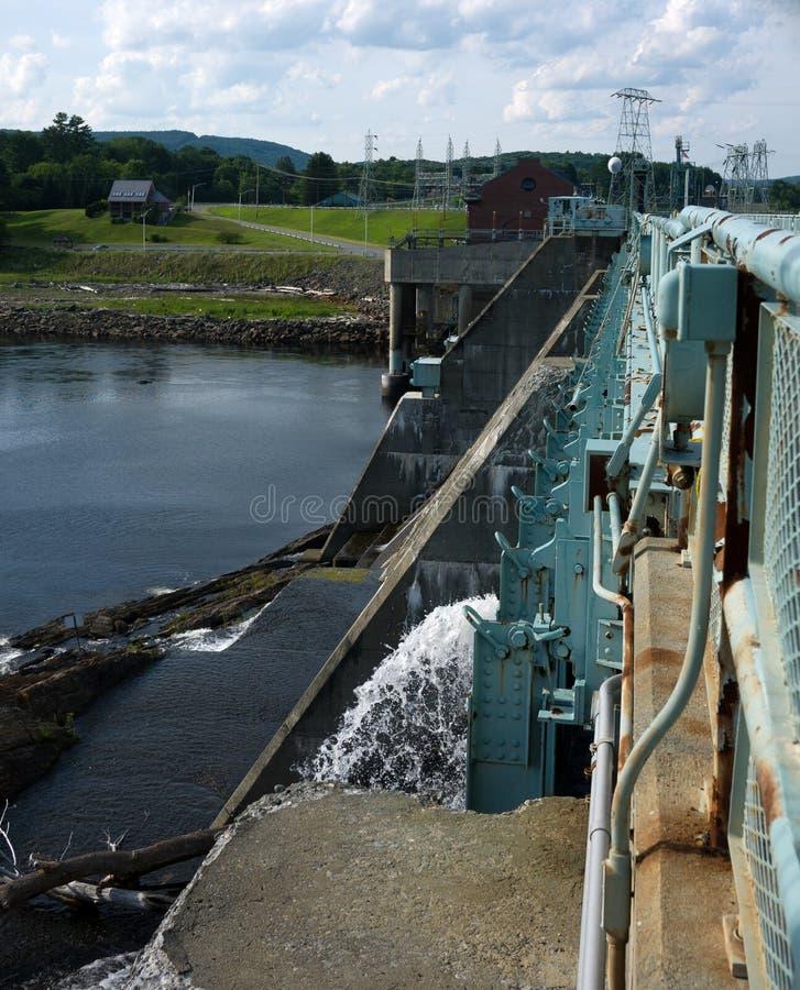 Hydro Elektrische Installatie royalty-vrije stock afbeelding