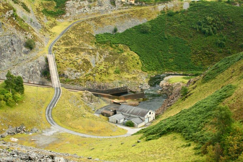 hydro elektryczna wywołująca stacja zdjęcia royalty free
