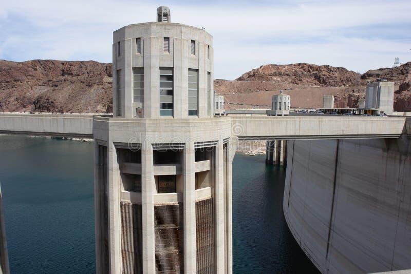 hydro elektryczny wierza zdjęcia stock