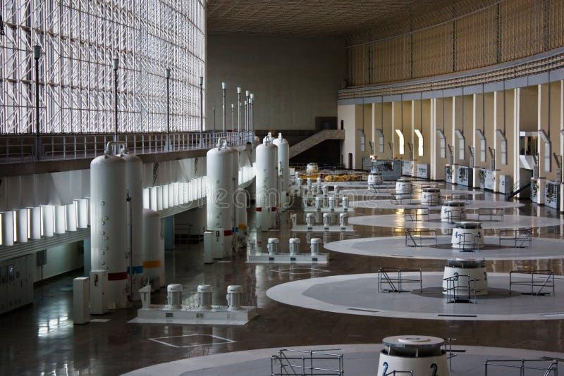Hydro power plant royalty free stock photo