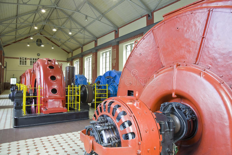 Download Hydro power plant stock image. Image of amperage, indoors - 23783055