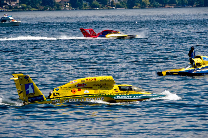 Download Hydro Races Seafair Seattle Editorial Stock Image - Image: 6002314