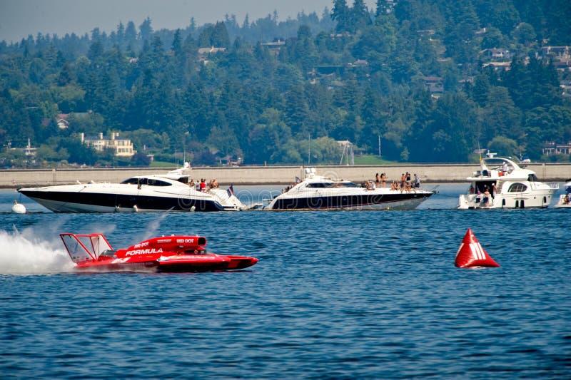 Hydro Rassen Seafair Seattle Redactionele Fotografie